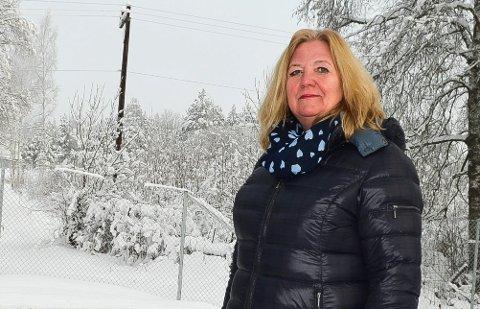 I ØVRE SJIKT: – Det er ikke et mål å ha så høy eiendomsskatt som mulig, fastslår Lillian Skjærvik.
