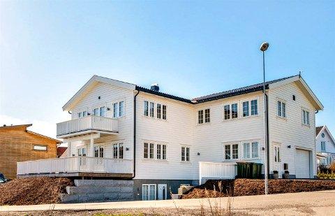 12,5 millioner ble antydet som pris her, men kjøperne sikret seg huset for 10,2.