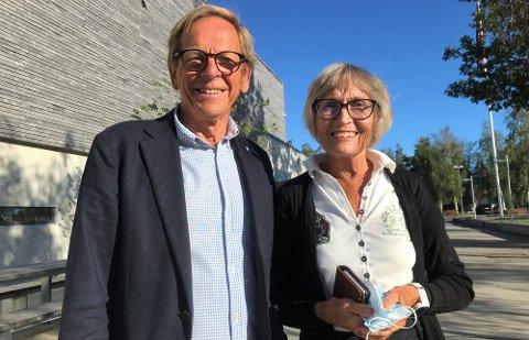 EKS-ORDFØRER: Roar og Anne Lise Jonstang lot, ikke overraskende, Høyre få stemmene også i år.