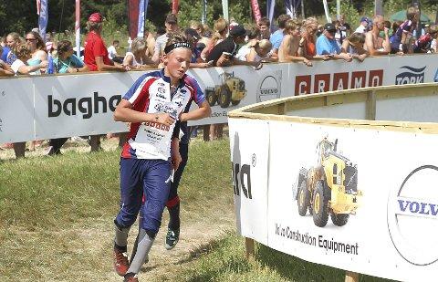 AVSLUTTET BRA: Peder Aabogen Haugaard avsluttet med to sterke løp og vant en «beste framgang»-trøye fra klubben sin for det. FOTO: PRIVAT