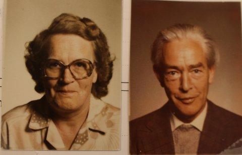 Fra fotoalbumet: Elly og Asbjørn Weibye fikk aldri egne barn, og ga sin arv til kreftsyke barn i Rakkestad.