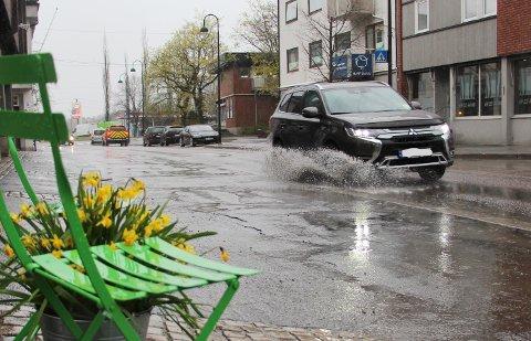 REGN I VENTE: Torsdag vil det bli vått i Rakkestad.