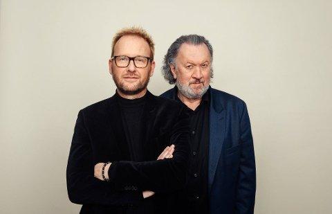 Folkekjær: Bjørn Eidsvåg og Sigvart Dagsland er to av Norges mest folkekjære artister. Til høsten gjester de Mo i Rana sammen.