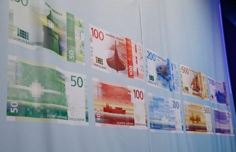Oslo 20161122.Norges Bank presenterer nye sedler.Foto: Terje Pedersen / NTB scanpix