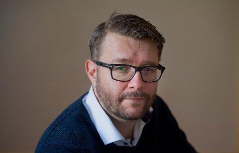 NY JOBB: 1. oktober begynte Jostein Rensel fra Røyken i ny stilling som kommunikasjonsrådgiver i Godt Sagt AS