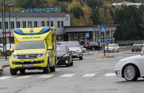 ULYKKE: Her i krysset Storgata-Sundgata skjedde ulykken torsdag formiddag.