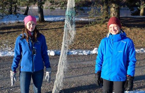 VIL NÅ UT: Frisklivskoordinator Stine Haughovd-Martinsen (til høyre) og fysioterapeut Ida Mari Borge Hovi vil nå ut til innbyggere som ikke er så aktive.