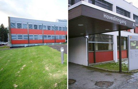 HVOR? Det kjempes aktivt fra politiske leire i Sande og Holmestrand om den videregående skolen. Sande videregående (bildet) fyller 40 år i 2019.