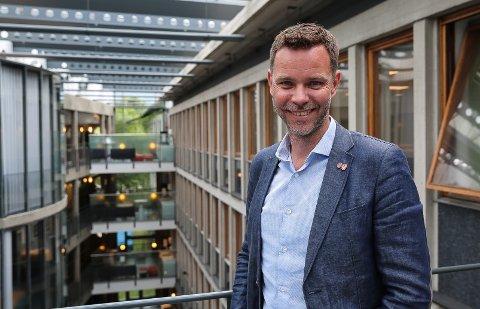 UTVALGSLEDER: - Jeg håper tilskuddene vil ha en positiv effekt for næringsutvklingen i fylket vårt framover, sier Truls Vasvik, leder av hovedutvalget for næring og reiseliv i Vestfold og Telemark fylkeskommune.
