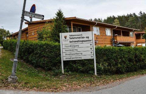 SOLETUNET: Bo- og behandlingssenteret skal bygges om for å gi flere sykehjemsplasser.