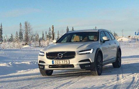 Nye Volvo V90 Cross Country lanseres i disse dager i Norge.