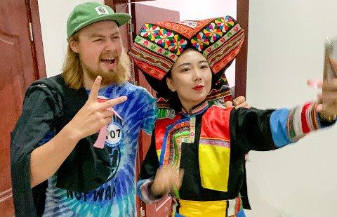 POPULÆR: Brage Vestavik fikk en aha-opplevelse da han kom til Kina. Lite ante han at folk der visste hvem han var.