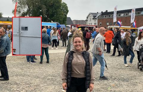 Elin Georgsson, prosjektleder for festivalen, syns det ble et skår i gleden at noen er villig til å skade en liten bedrift ved å gjøre innbrudd.