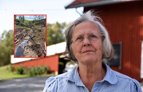 ENSIDIG: Brit Haugbro syns grunneier Anders Fjeld sin uttalelse om hva som er til belastning for naturen i Fjella, som ensidig.