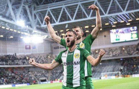 SKIFTER BEITE: Mats Solheim ville ikkje forlenga kontrakten i svenske Hammarby. Tysdag vart han presentert som ny Stabæk-spelar. (Foto: Nils Petter Nilsson)