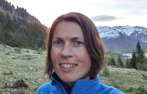 GLER SEG: Ingrid Narum har fått seg ny jobb i Trondheim, så no vert det flytting.