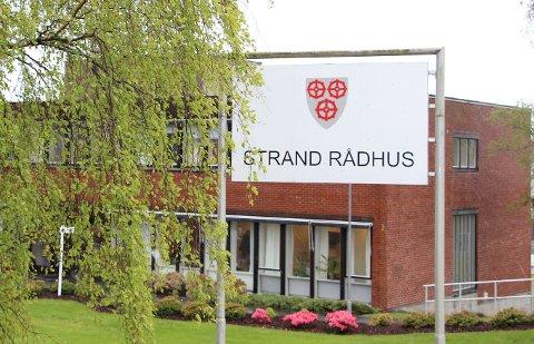 ENDRING: Strand kommune er i ferd med få ny organisasjonsstruktur., som skal gjelde fra og med neste år.