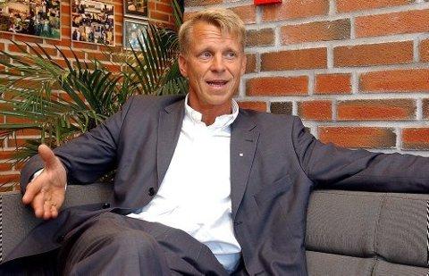 SAMARBEID: Rektor ved Universitetet i Sørøst-Norge, Kristian Bogen, maner til samarbeid. - Det vil styrke vår region, sier han.