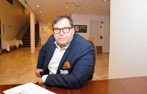 SNART KLAR: Fylkesmann Per Arne Olsen er snart klar med organisasjonsplan for den kommende Fylkesmannen for Vestfold og Telemark.
