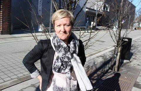 GIR IKKE OPP: Mariann Eriksen i Porsgrunn kommune gir ikke opp NM-veka.