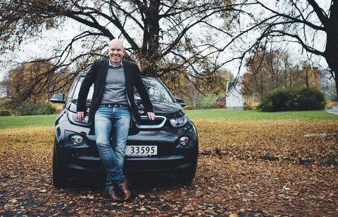 EKSPERT: Ståle Frydenlund i Norsk elbilforening sier det er enkelte ting som kan gi ekstra slitasje på batteriet.  FOTO: Aksel Jermstad
