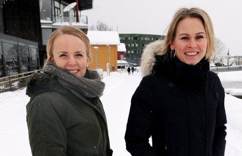 RYDD OPP! Kamilla Elise Holt Utheim (til venstre) og Hanne Solli har samlet mange gode råd til deg som vil bruke 2019 til å legge deg opp mer penger. – Først av alt må du få oversikt over hva du har og hva du bruker, sier de.