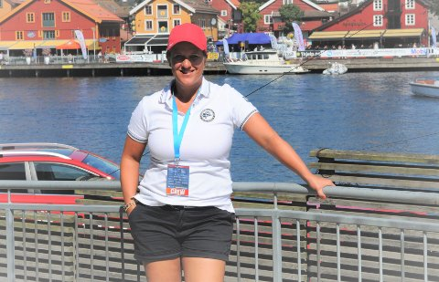 OPTIMIST: Daglig leder Joyce Christine Andersen i Tønsberg Båtrace krysser fingrene for at de kan arrangere som normalt nå i august.