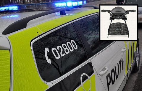ANMELDT: Lene Marie Johannessen tok kontakt med politiet etter at hun oppdaget at grillen ikke lenger sto på terrassen.