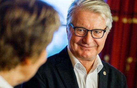 SKUFFET: - Hvis vi hadde kjent hverandre hadde du ikke stjålet av min tid og min lommebok, er budskapet fra tidligere Oslo-ordfører Fabian Stang til den som stjal elsykkelbatteriet hans.