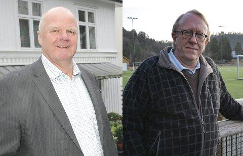 Jan Dukene og Birger Eggen reagerer på at flere av de som står bak den nye valglista XL tidligere har gått hardt ut mot «bygdelister».