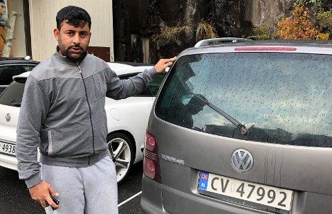 Ammar Al-Ahmad foreslår endring av rutinene for parkeringsforholdene til beboerne i Hovedgata 50