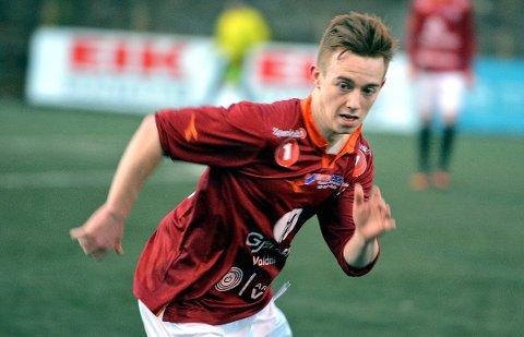 Ryan Lee Nelson var en viktig spiller for Valdres FK. Nå leverer han sine tjenester til erkerivalen Gjøvik-Lyn. Foto:Arkiv