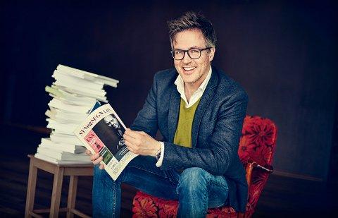 DETTE TJENER HAN: Knut Aastad Bråten er redaktør i Syn og Segn. Her kan du se hva han og andre mediefolk i Valdres tjener.