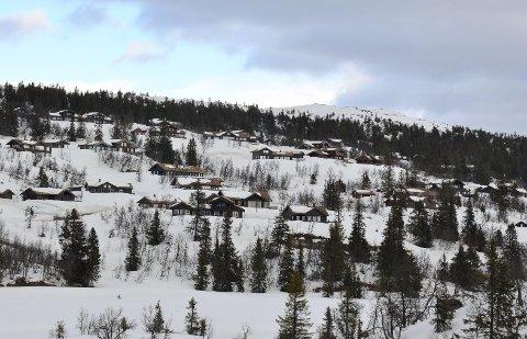 ILLUSTRASJONSFOTO: Ei hytte på Aurdalsåsen ble den dyreste eiendommen solgt i Nord-Aurdal i februar.