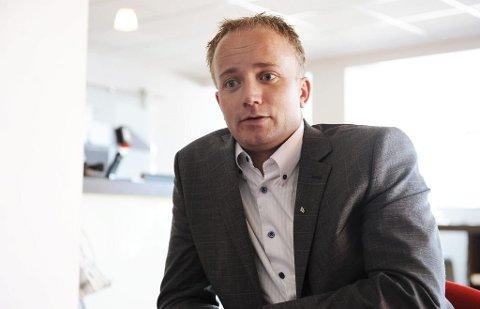 SIKTER HØYT: Frode G. Hestnes er FrPs kandidat til å bli det nye fylkets ordførerkandidat.