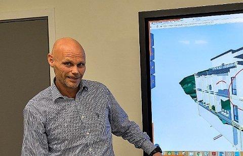 OPTIMIST: Koronakrise til tross, adm. direktør Roger Dreyer i Backe Vestfold Telemark AS venter vekst også i 2020.