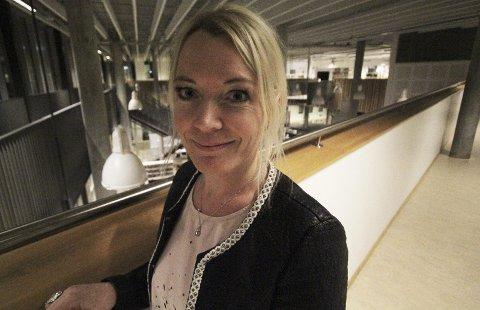 Ser fremover: Kultursjef på Nesodden, Ellen Knutsen, gleder seg over at planen nå er vedtatt og håper den blir et nyttig verktøy for alle som er involvert i kulturlivet på halvøya.Foto: Steinar Knudsen