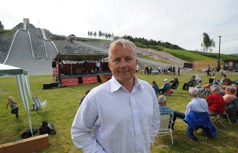 PÅ TOLGA:  Knut Storberget holdt åpningstalen under Olsok i Tolga i 2015. Nå blir han fylkesmann.