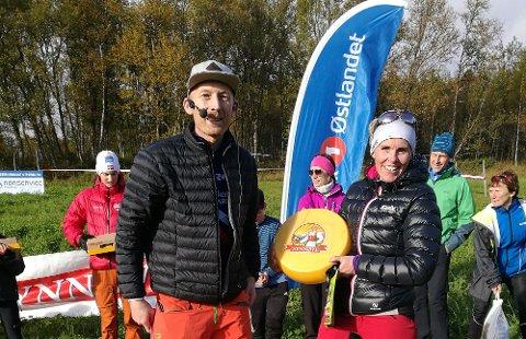 SMEDHAUGRITTET I SOL:   Smedhaugrittet 2017 ble vunnet av Ingunn Follien Roaldseth fra Team Basisball Tynset.