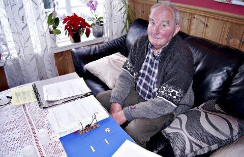 Ikke imponert: Nils Toven er ikke imponert over saksbehandlingen Nesset kommune har gjennomført i deponisaken. – Informasjon og folkeopplysning har ikke blitt vektlagt i prosessen, og fire orienteringsmøter i formannskapet, uten protokollføring, hører selvfølgelig ingensteds hjemme, sier gruveveteranen.