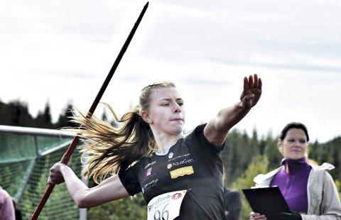 God i det meste: Lisa Wilker tok hele fem medaljer under midtnorsk mesterskap i Stjørdal. Foto: Arkiv