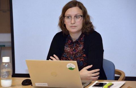 Kjempeanlegg: Ordfører Ingrid Waagen (Sp) minnet om hva anlegget betyr for lokalmiljøet.