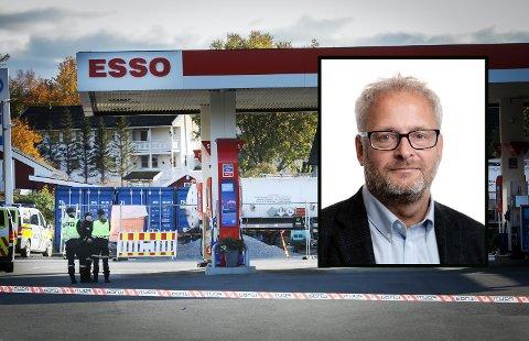 Politiet etterforsker etter at ulykken rammet 4. oktober. Innfelt: Teknisk sjef Jan-Erik Korgerud hos Certas Energy Norway.
