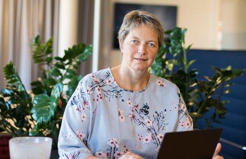 Hanne Solheim Hansen har tro på at styret vedtar hennes forslag til studiestedsstruktur. - Jeg har vært i dialog med styreleder.