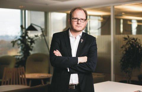 Daniel Bjarmann-Simonsen, regiondirektør i NHO Nordland Foto: Moment Studio