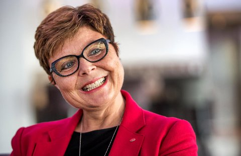 Fylkesordførar Anne Gine Hestetun.