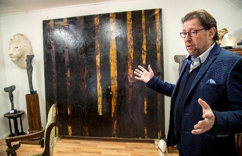 Kunsthandler Egil Wendelboe Aarø.