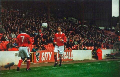 PROFF: Vegard Hansens prøvde tilværelsen som utenlandsproff i Bristol City.