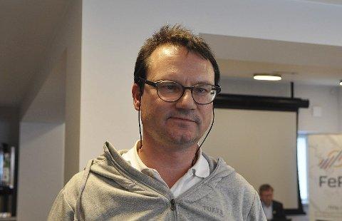 FØRST PÅ LISTA: Jan Olsen er førstekandidat på lista til Nordkapp SV.