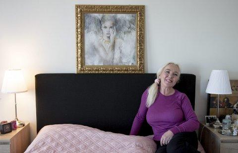 GÅVE: For Nina Gjervik seier dette bildet alt om omsorg, kjærleik og ivartaking. Foto: Henriette Lien Pedersen
